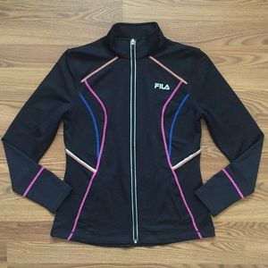 FILA Sport • Contrast Trim Tracksuit Jacket